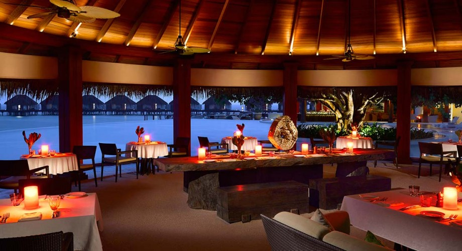 Dusit Thani Maldives Breakfast Amp Dinner Daily