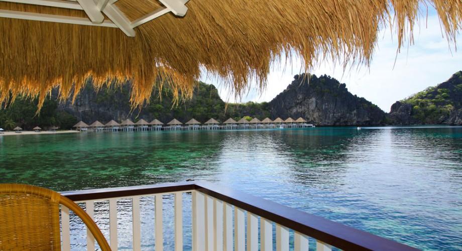 El Nido Apulit Island All Meals Overwater Bungalows