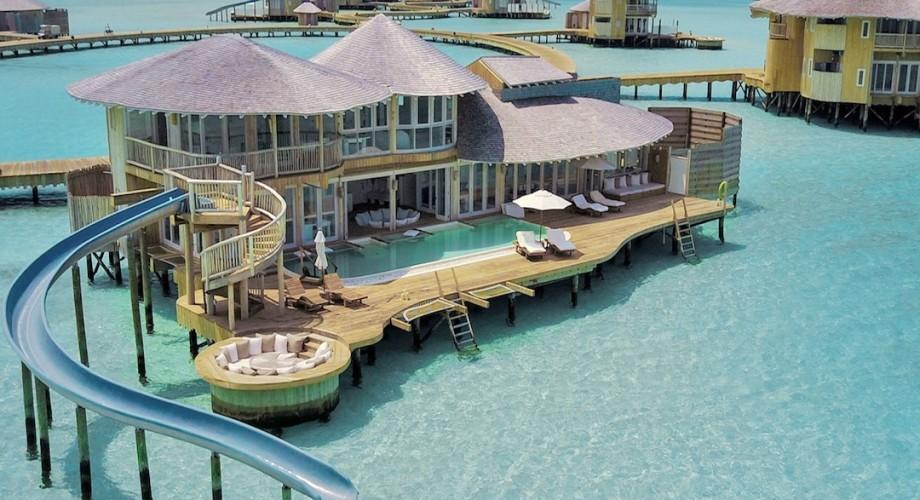 Soneva Jani Resort Free Dinner Daily Overwater Bungalows